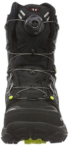 Viking Constrictor Ii Boa, Chaussures de Trekking et Randonn&EacuteE Mixte Adulte Noir - Schwarz (Black/Silver 246)