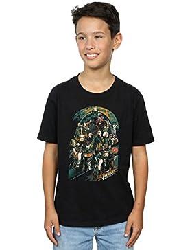 Absolute Cult Avengers Niños Infinity War Team Camiseta