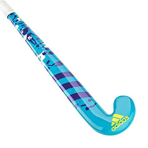 adidas Neue K17 Königin Jr Junior Hlzerne Hockey-Stange 2017 Sport-Ausrstung Rosa/Schwarzes/Weiß, Blau, 71cm L (Holz Hockey Stick Junior)