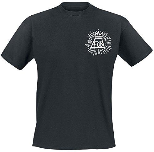Fall Out Boy Burst T-Shirt schwarz Schwarz