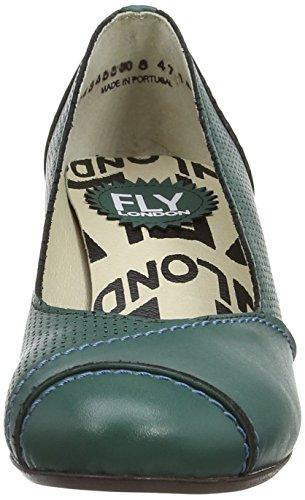 Fly London Kova, femme Vert - Green (Esmerald)