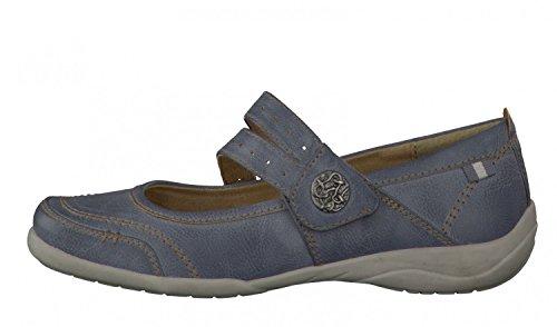 Jana Softline Mesdames Strap Chaussures 8-24660-24 denim bleu taille 36-41 blau
