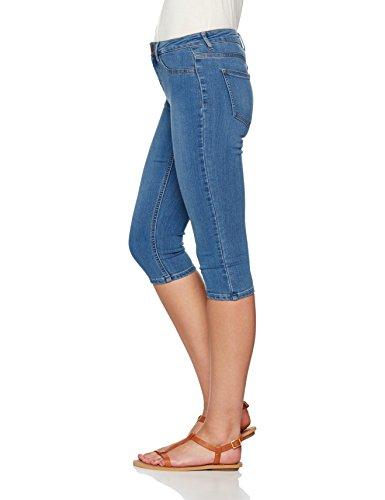 PIECES Damen Skinny Jeans Blau (Medium Blue Denim)