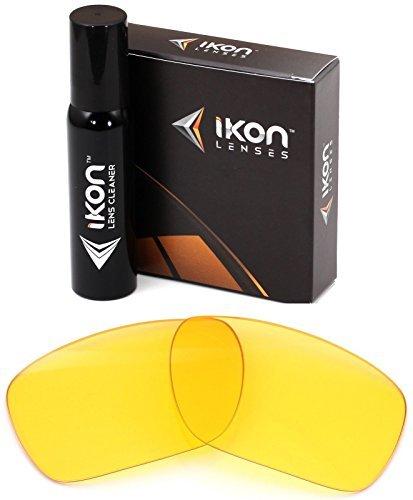 Polarisierte Ikon Ersatz Linsen für Dragon Calavera Sonnenbrillen-mehrere Möglichkeiten, Herren, HD Yellow