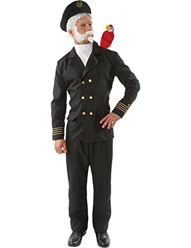 Marine Matrose Uniform TV Lustig Karnival Kostüm Standard (Papagei Kostüm Für Erwachsene)