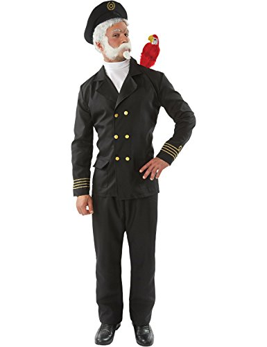 Marine Matrose Uniform TV Lustig Karnival Kostüm Standard (Fischer Kostüm)