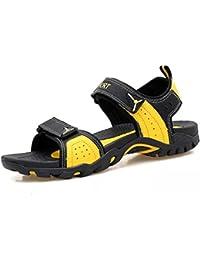 3fe10e4bfaac Sandales de Sport Marche Randonnée Chaussures Femme Cuir Plage Trekking  Leather Respirant Confort Plage Été
