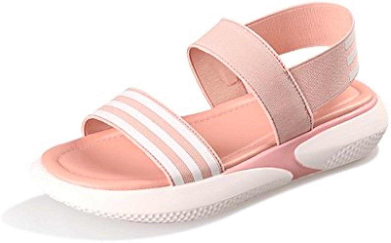 Sandalias Mujer Zapatos Femenina Verano Ligera y Cómoda Moda (Tamaño : 6.5)