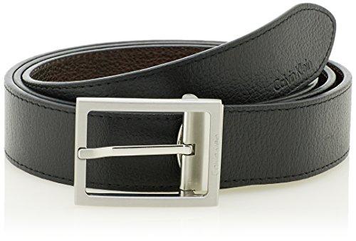 Calvin Klein Jeans K50K500717 - Ceinture - Homme - Noir (Black) - FR : 110 cm (Taille fabricant : 110)