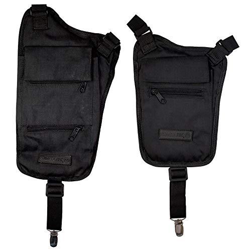 SIMBATEC Sicherheits-Brustbeutel BODY-SAFE, Lang PLUS Kurz im SPAR-SET - jetzt wieder verfügbar in verbesserter Ausführung -