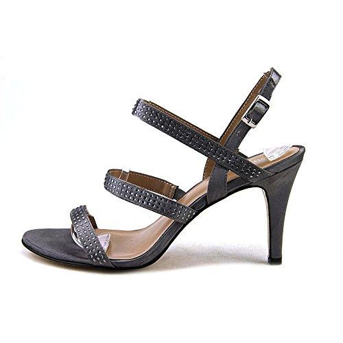 Style & Co Urey Stoff Sandale Pewter