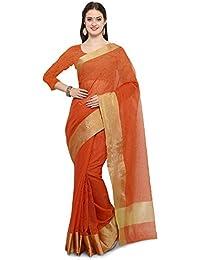 Saree Mall Linen Silk Saree With Blouse ( Green_sarees Latest Design 3LNN307 )