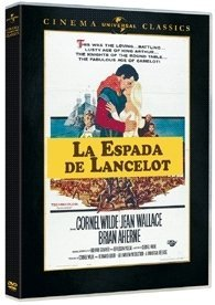 LANCELOT AND GUINEVERE (Cornel Wilde, Jean Wallace)