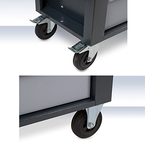 DEMA XXL Werkstattwagen 14 + 1 anthrazit/grau - 5