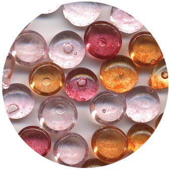 Dew Drops Small Bottles-Island Blossom -Red/Orange/Pink