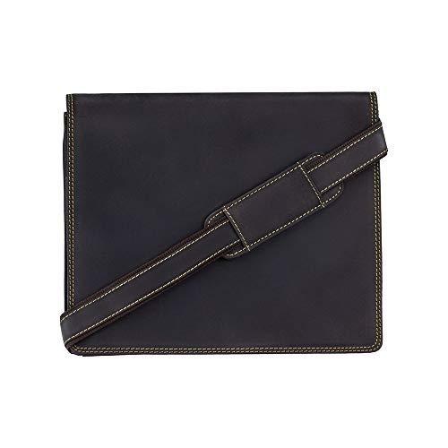 7c708d6fac Visconti - Sacoche bandoulière Cuir huilé Marron pour PC Portable iPad 16025