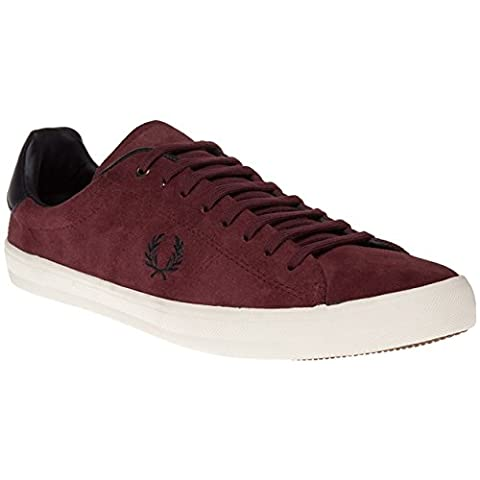 Fred Perry - Chaussures HOWELLS UNLINED SUEDE Bordeaux EU