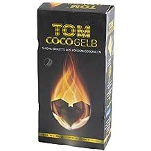TOM Carbón De Coco Cococha Amarillo 3kg para cachimba ...