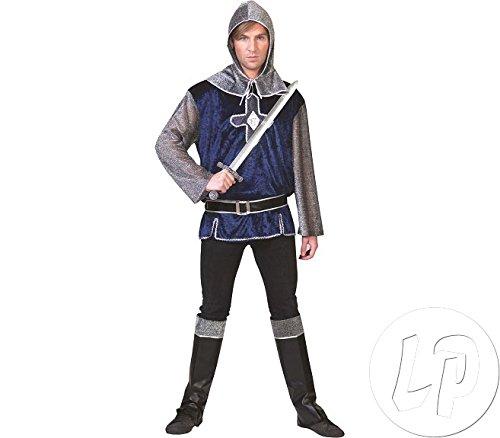 Ritter Kostüm Lancelot - Funny Fashion Kostüm legendärer Ritter Lancelot Ritter Gr. 56