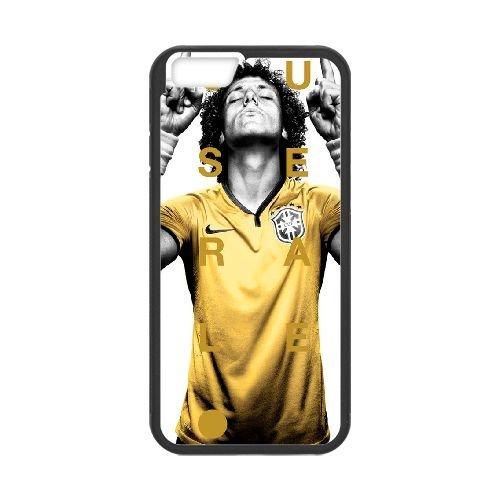 David Luiz coque iPhone 6 4.7 Inch Housse téléphone Noir de couverture de cas coque EBDXJKNBO13098