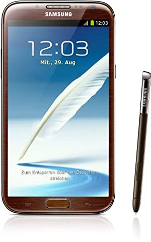 Samsung Galaxy Note II N7100 Smartphone 16GB (14 cm (5,5 Zoll) AMOLED-Touchscreen, Quad-core, 1,6GHz, 8 Megapixel Kamera, Android 4.1)