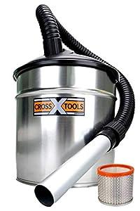 Cross Tools 68518 CAS 1100 EU Ash Vacuum Cleaner with Heat Shield