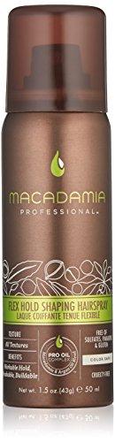 Macadamia Professional Flex Hold Shaping Hairspray, 1er Pack(1 x 50 ml) (Shaping Hold Spray)