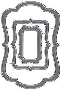 Echo Park papier Carta Bella en métal dies-designer Label # 4