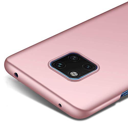"Richgle Huawei Mate 20 Pro (6.39\"") Hülle, Rose Gold Sehr Dünn Schutz Hülle Case Harte Schutzhülle für Huawei Mate 20 Pro (6.39\"") RG00230"