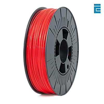 ICE FILAMENTS ICEFIL1ABS027 ABS Filament, 1,75 mm, 0,75 kg, Romantic Red