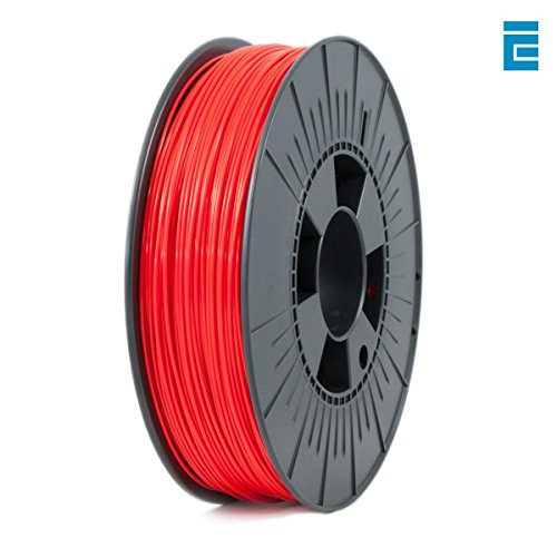 ICE Filaments ICEFIL1ABS027 ABS filament, 1.75mm, 0.75 kg, Romantic Red