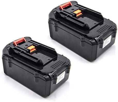 Vhbw 2x Li-Ion batteria 3000mAh (36V) (36V) (36V) per strumenti attrezzi utensili da lavoro Makita BUH650Z, BUX361, BUX361RDE, BUX361Z, MBC231DRD Lawnmower cc2501