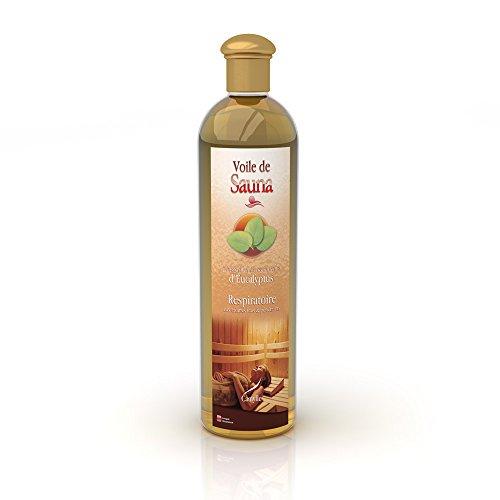 Camylle - Voile de Sauna - Saunaduft aus reinen ätherischen Ölen – Eukalyptus - Atmungsaktiv – 500ml