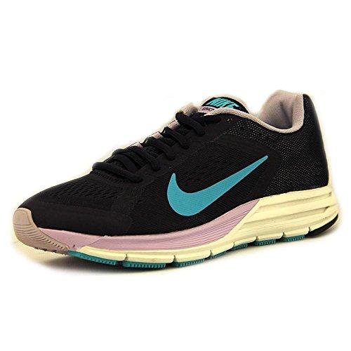 Nike Wmns Zoom Structure+ 17, Scarpe da Corsa Donna Viola/blu-verde (Prpl Dynsty / Gmm Bl-Vlt Frst-Sm)