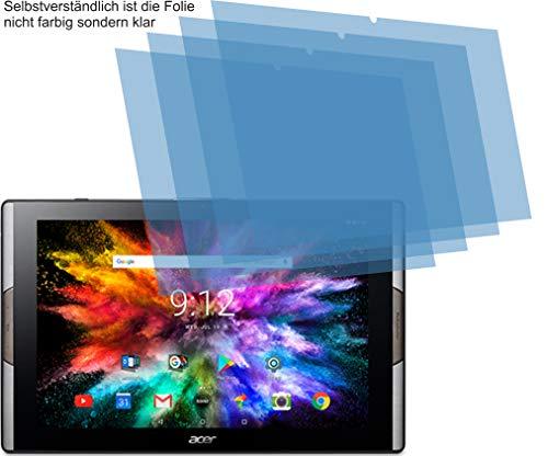 4ProTec 4X ANTIREFLEX matt Schutzfolie für Acer Iconia Tab 10 A3-A50 Bildschirmschutzfolie Displayschutzfolie Schutzhülle Bildschirmschutz Bildschirmfolie Folie