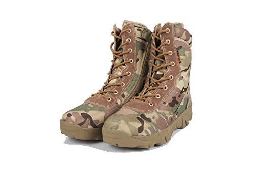 GDXH Neue Schuhe,Mens Desert Boots Jagdschuhe wasserdicht High Rise Jungle Trekking Schuhe Non Slip Breathable Outdoor Schuhe,A,43EU -