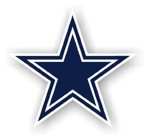 NFL Dallas Cowboys 12-Inch Vinyl Logo Magnet
