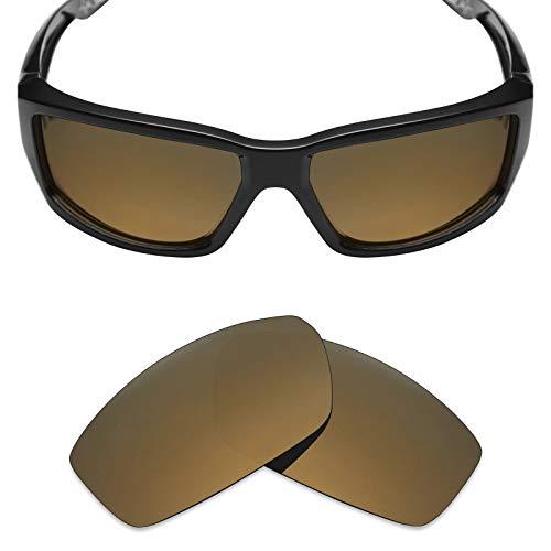 Mryok Ersatzgläser für Spy Optic Dirty Mo - Optionen, (Polarized - Bronze Gold), Einheitsgröße