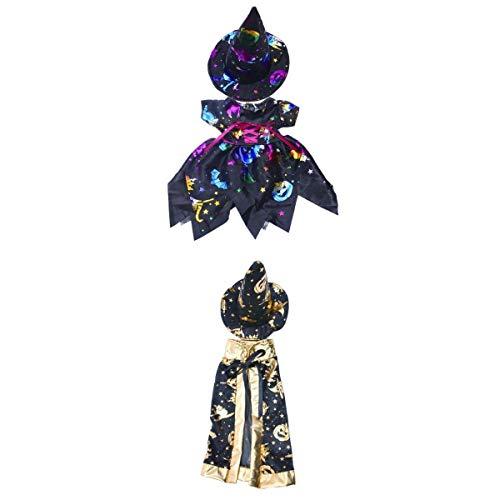 nkleidung mit Hut Halloween Kostüm Outfit Set Für 18 Zoll amerikanisches Mädchen Puppen ()
