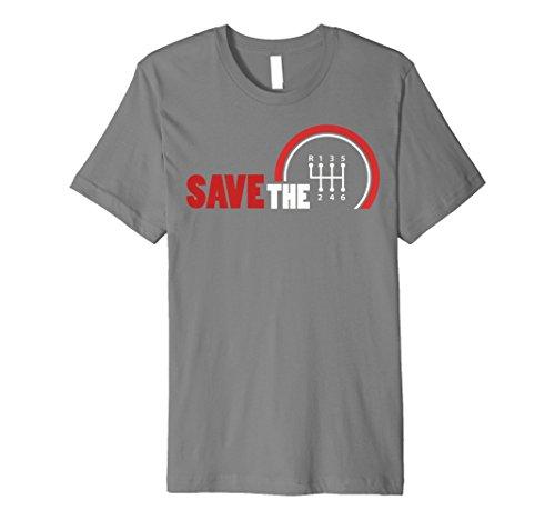Save The Stick Shirt | Schaltgetriebe Drei Pedale Geschenk