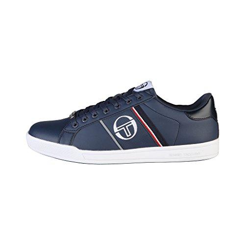 Chaussures baskets homme bleues Tacchini PARIGI_ST624120_21_Navy Bleu