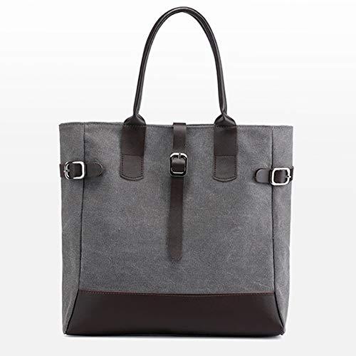 Weich und komfortabel Leinwand Umhängetasche Charme praktische tragbare Handtasche Mode Umweltschutz tragen (Charme Für Das Ipad)
