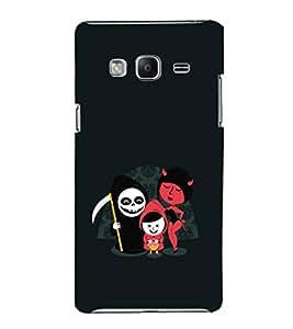 EPICCASE devils Mobile Back Case Cover For Samsung Tizen Z3 (Designer Case)
