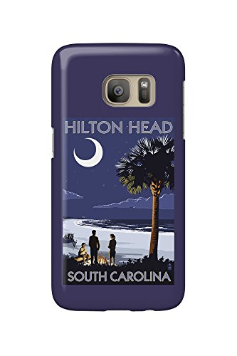 hilton-head-south-carolina-beach-and-bonfire-galaxy-s7-cell-phone-case-slim-barely-there