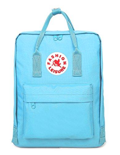 Tibes große Unisex Rucksack Oxford Laptop Tasche leichte Rucksack für Studenten, Himmelblau, Medium (Unterwegs Rucksack Niedlichen Für)