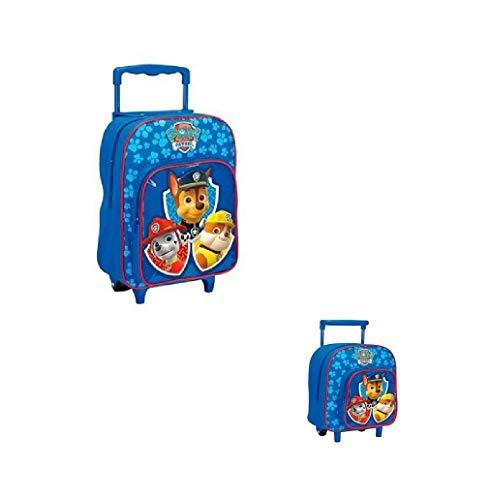 Takestop® zainetto zaino trolley paw patrol animali animale cagnolino disney scuola pranzo asilo materna per bambini bambine bambino bimbo (piccolo (23x29x15cm))