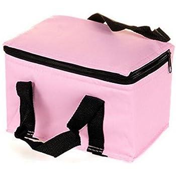 Sfit Sac Repas Isotherme Lunch Bag Portable Pliable pour Famille de Voyage Barbecue Camping Pique-nique (Noir) QDf63C