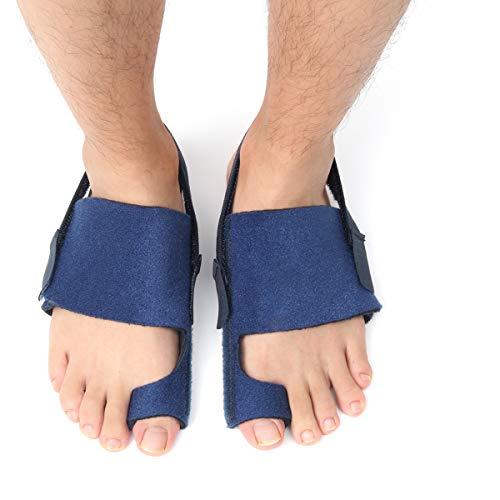 Charminer alluce valgo correttore, toe Splint Big Toe piastre per separatori Bunion Protector Pad per Neight Time alleviare il dolore per uomini e donne