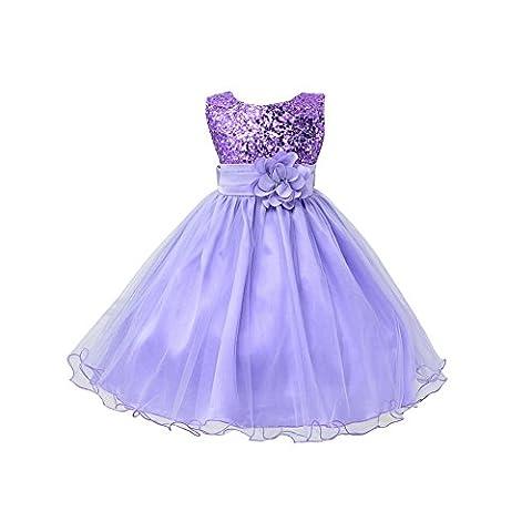 ESHOO Summer Baby Girls Birthday Wedding Party Princess Dress
