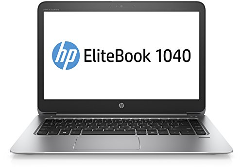 HP EliteBook 1040 G3 Z2U95ES (14 Zoll QHD) Laptop (Intel Core i7-6600U, 512 GB SSD, 16 GB RAM, Windows 10) Silber